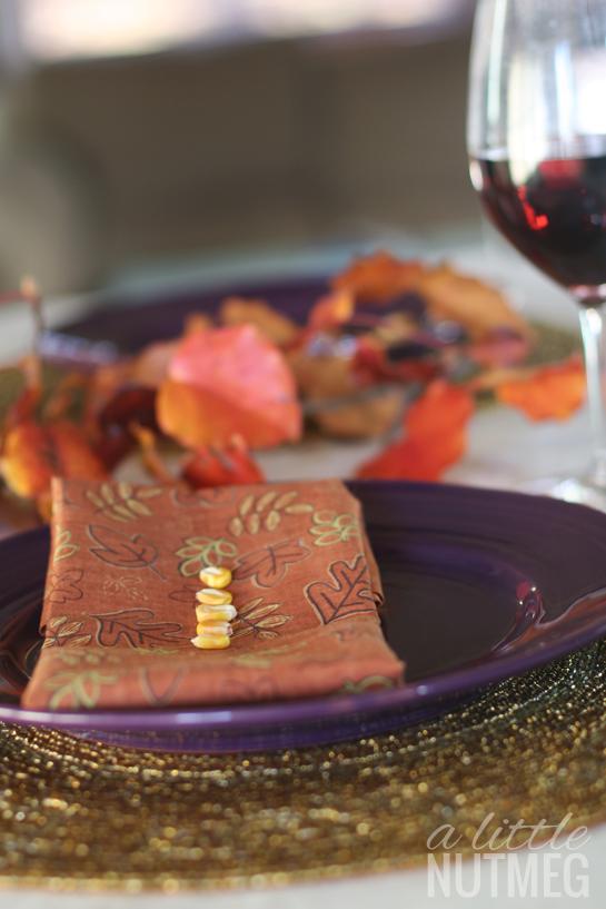 8 thanksgiving traditions: corn kernels