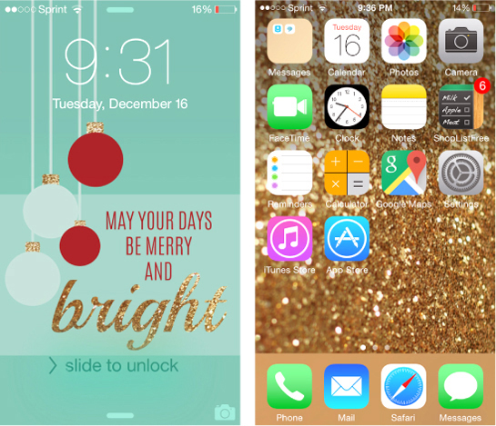 Top 5 Iphone Wallpapers From 2014 A Little Nutmeg
