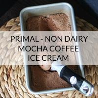 primal non dairy mocha coffee ice cream